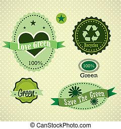 eco, étiquettes