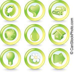 eco, ícones