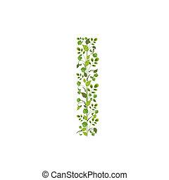 eco, άνοιξη , πράσινο , leaves., γράμμα