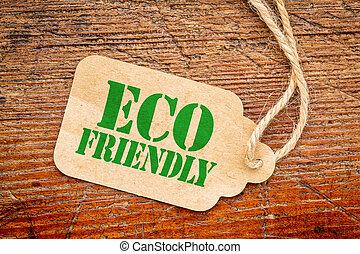 eco, αντίτιμο ακολουθώ κατά πόδας , φιλικά , σήμα