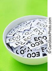 eco, γενική ιδέα , σήμα