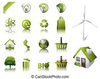 eco, διάταξη κύριο εξάρτημα , και , απεικόνιση