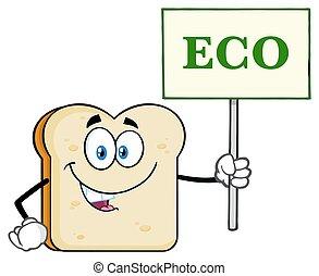 eco, εδάφιο , χαρακτήρας , σήμα , δείγμα , κράτημα , άσπρο , γουρλίτικο ζώο , γελοιογραφία , bread