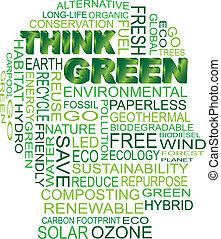 eco, κεφάλι , πράσινο , κρίνω , ανθρώπινος