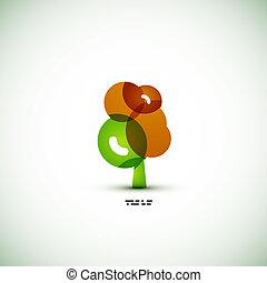 eco, πράσινο , γενική ιδέα , δέντρο