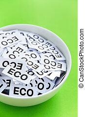 eco, σήμα , γενική ιδέα