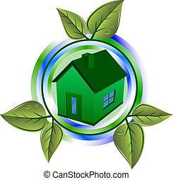 eco, σπίτι , πράσινο