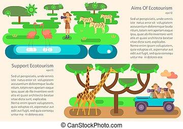 eco τουρισμός , γενική ιδέα