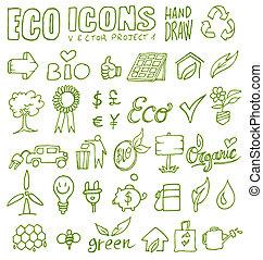 eco, アイコン