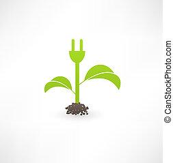 eco, エネルギー, 緑