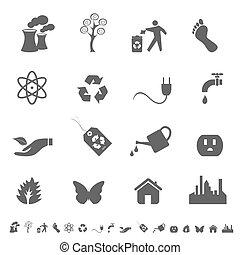 eco, シンボル, アイコン