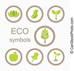 eco, シンボル, ベクトル