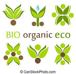 eco, シンボル, 有機体である