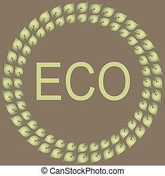 eco, ラベル, コレクション