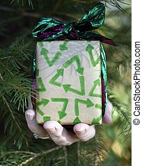 eco, リサイクルしなさい, クリスマスの ギフト