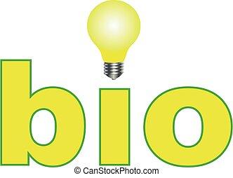 eco, 味方, ロゴ, bio