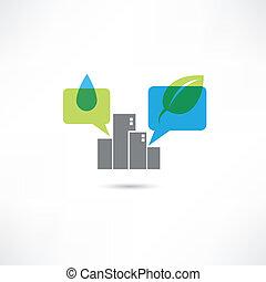 eco, 大きい都市