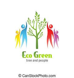 eco, 緑, アイコン
