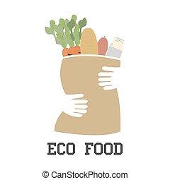 eco, 食物