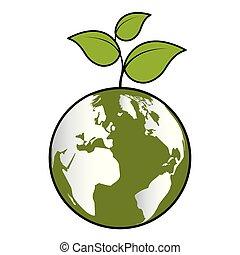 eco, ambiente, amichevole