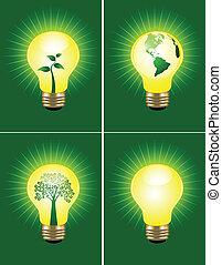 eco, ampoule, collection