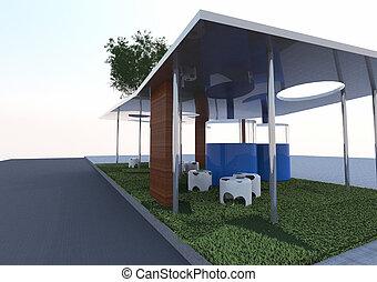 eco, architektur