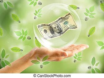 Blasen für einen Dollar
