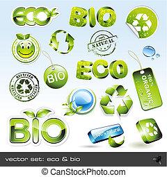 eco, bio, y
