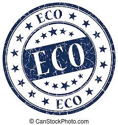 Eco Blue Stamp