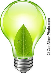 eco, bol, groene