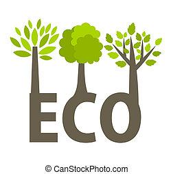 eco, bomen