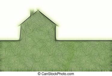 eco, casa, metáfora