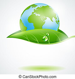 Eco concept - Vectot eco concept design