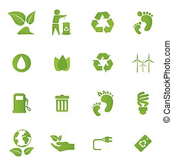 Eco Design Elements And Icons.