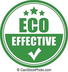 Eco effective icon