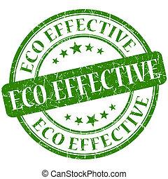 eco effective stamp