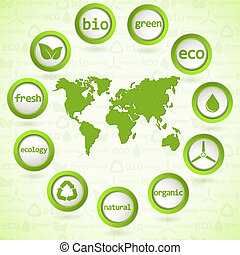 eco, elemente, design