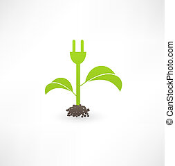 eco, energi, grön