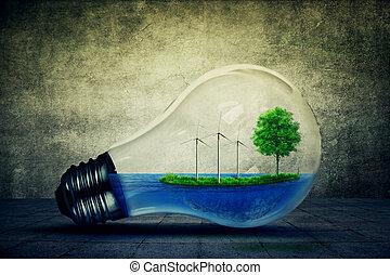 eco, energia