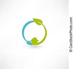 eco, energia, verde