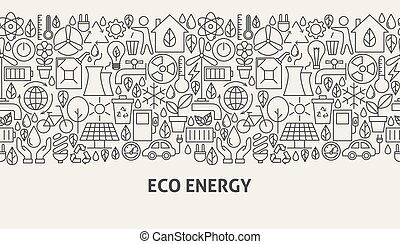 Eco Energy Banner Concept