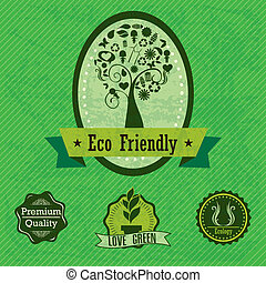 eco, etiketten