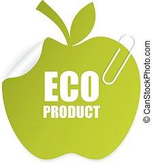 eco, etiqueta produto