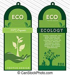 eco, etiquetas