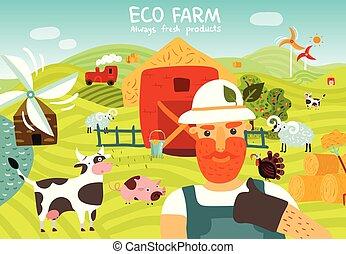 Eco Farm Composition