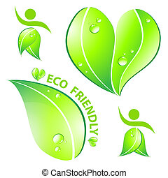 eco, fogalom, barátságos, állhatatos