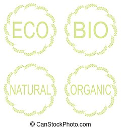 Eco Food Labels.
