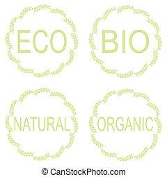 Eco Food Labels.