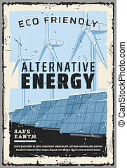 Eco friendly alternative energy power generation