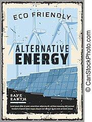 Eco friendly alternative energy power generation